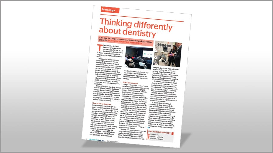 Orthodontic Practice - Thinking differently about dentistry Poster